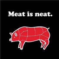 Meat is neat