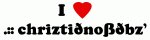 I Love .:: chriztinobz'