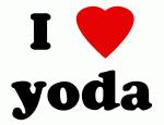 I Love yoda