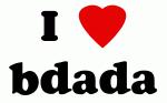 I Love bdada