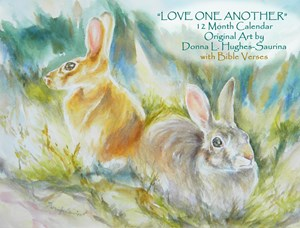 """""""Love One Another"""" Wall Calendar"""