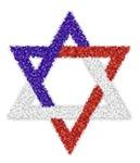 Red White Blue Star of David