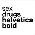 Sex, Drugs, Helvetica Bold (Black)
