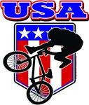 USA Patriotic BMX Biker