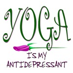 YOGA IS MY ANTIDEPRESSANT