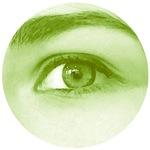 Green spring eye - Lore M's art -