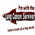 I'm with the Lung Cancer Survivor!