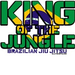 King of the Jungle jiu jitsu shirts