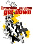Get Down BJJ shirts - crosses design
