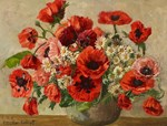 Red Poppy Bouquet