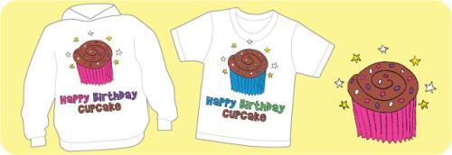 Happy Birthday Cupcake Shirts