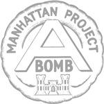 Manhattan Project emblem (dark clothes)