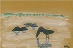 Bird in the Sand