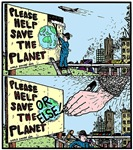 Save the Planet or ELSE!