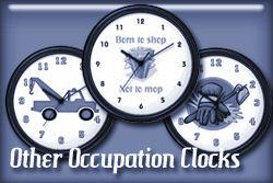 Other Occupations Wall Clocks