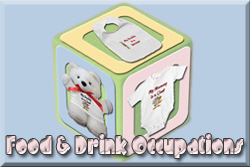 Food and Drink Occupation Baby Clothes and Gifts