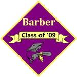 Barber Graduate 2009