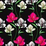 Pink & White Floral Pattern