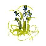 Atom Flowers #3
