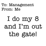 Do my 8 and out the Gate