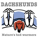 Doxie Bed Warmers (Red)