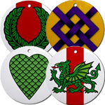 Peerage and Award medallions