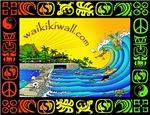 Waikiki wall