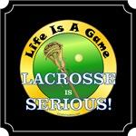 Lacrosse Is Serious