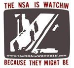 The NSA is WATCHIN