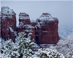 Snowy Coffee Pot Rock 2743