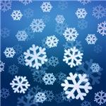 Blue Snowflake Designs