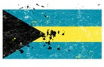 Bahamian Flag (Punk)