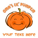 Oma's Little Pumpkin Personalized
