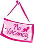 No Vacancy Pink