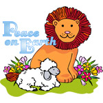 Lion & Lamb Peace On Earth