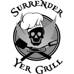 Surrender Yer Grill Black