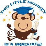 Boy Monkey Graduate