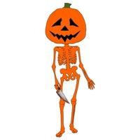 Scary Halloween Tees-Scary Pumpkinhead shirts