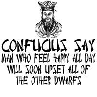 Confucius says funny slogan Confucius TShirts