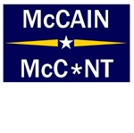 Very offensive anti McCain anti Palin gifts