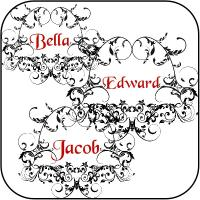 Bella, Edward, & Jacob