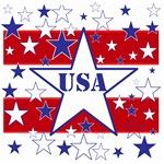 USA stars and Stripes