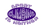 Sport Climbing is Neither