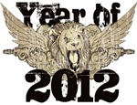 Year of 2012 Winged Lion