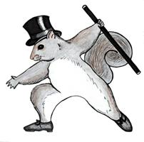 Tap Dancing Squirrel