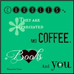 RETIRING PRODUCT: Cuddles, Coffee, Books, and YOU
