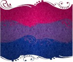 Bisexual Ornamental Flag