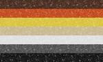 Glitter Bear Pride Flag