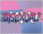 Halftone Bisexual Typography