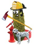Fire Fighter Pickle
